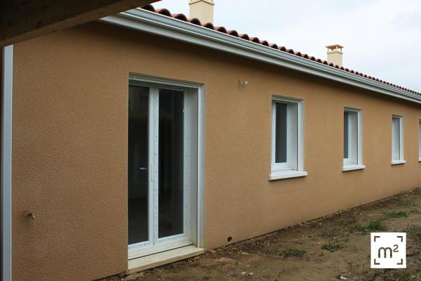 Façades extérieures : maisons mètre carré - Toulouse