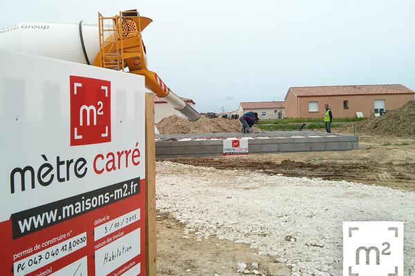 Démarrage d'une nouveau projet de construction à proximité d'Agen (Lot-et-Garonne, 47)