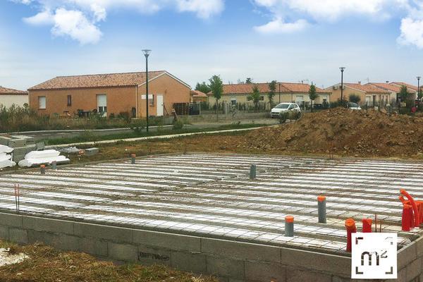 Les tapes du chantier de brax constructeur de maisons m tre carr for Prix du metre carre de construction neuve