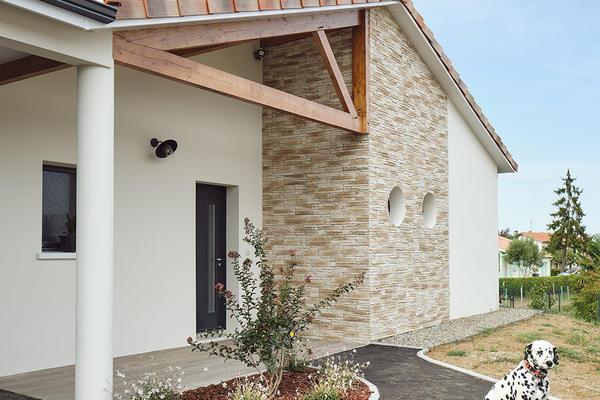 Maison contemporaine neuve projet Mètre Carré