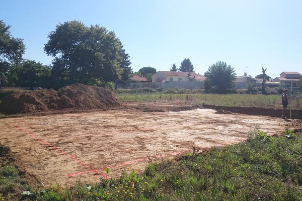 Préparation du terrain construction de maison neuve Mètre Carré