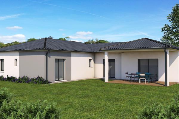 Projet de construction Mètre Carré arrière - Maison neuve Agen Bordeaux Toulouse