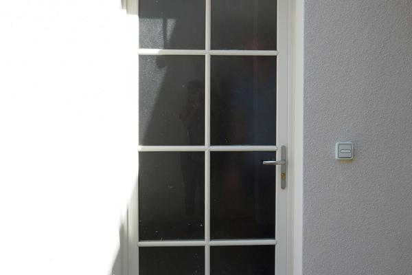 Porte d'entrée vitrée - Constructeur de maison Mètre Carré