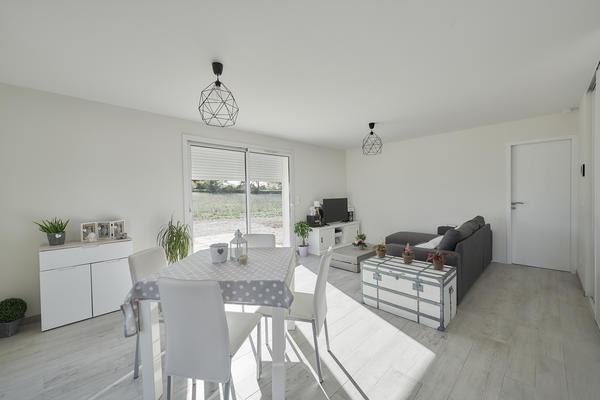 Projet de construction d'une maison 80m2 habitables - Constructeur Agen Bordeaux Toulouse