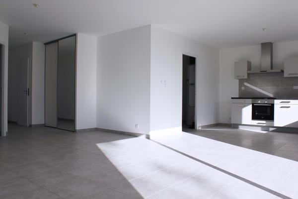 Pièce de vie ouverte - investissement locatif neuf Constructeur Agen Bordeaux Toulouse