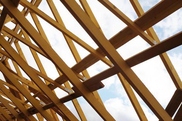 Charpente industrielle Mètre Carré - constructeur de maisons