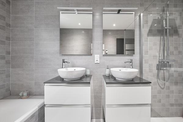 Meubles vasques salle de bain constructeur de maison Mètre Carré