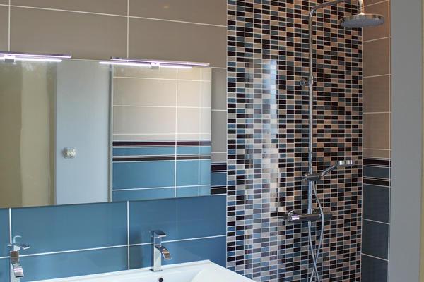 Salle de bain de la suite parentale - Maison Mètre Carré