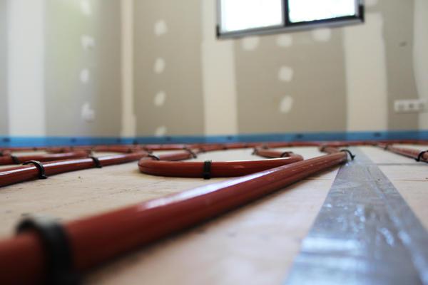 Système de plancher chauffant - Mètre Carré