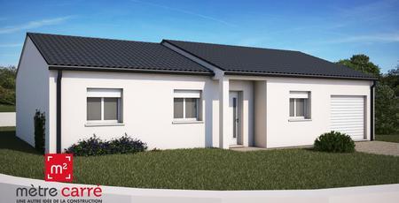 Pavillon neuf 3ch 100m² MOIRAX - constructeur de maisons Agen