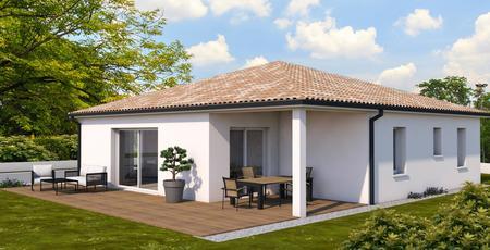 Projet à Casteljaloux - constructeur de maisons Agen