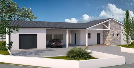 Maison sur mesure VILLENAVE D'ORNON - constructeur de maisons Bordeaux