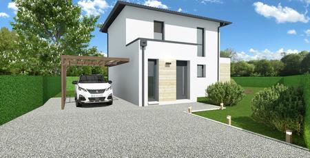 CASTELNAU MEDOC - Maison de plain pied sur mesure - constructeur de maisons Bordeaux