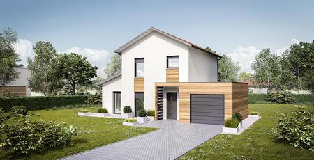 Maison 110 m² 4 chambres et un garage - constructeur de maisons Bordeaux