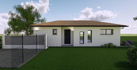 Maison 130 m² 3 chambres et un bureau - constructeur de maisons Bordeaux