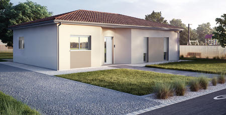 Nouveau - Maison + Terrain Rive Droite - constructeur de maisons Bordeaux