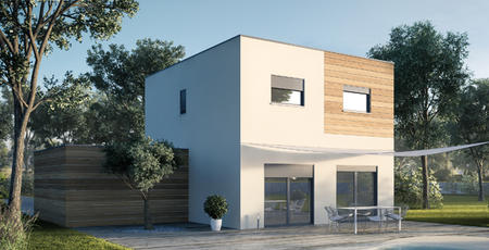 BELLE MAISON DE PLAIN-PIED - CUSSAC FORT MEDOC - constructeur de maisons Bordeaux