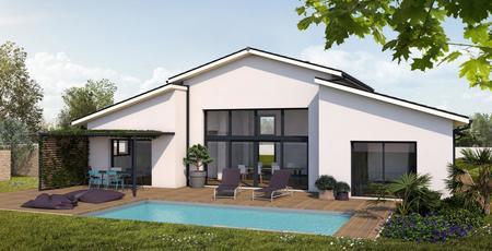Maison neuve à Birac - constructeur de maisons Agen