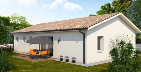 maison 3 chambres 25 mn de Bordeaux - constructeur de maisons Bordeaux