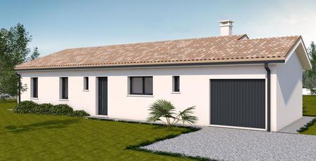 TERRAIN EN LOTISSEMENT + MAISON 90 M2 - constructeur de maisons Parentis