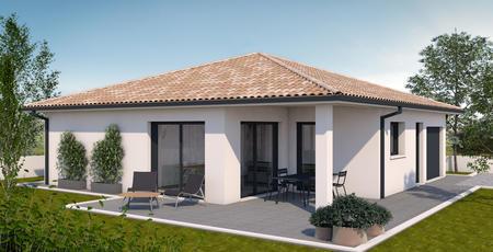 TERRAIN + MAISON 110 M2 - constructeur de maisons Parentis