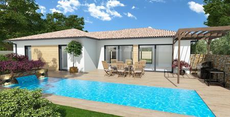 Maison sur mesure - terrain 1200m² - constructeur de maisons Bordeaux