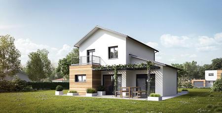 Maison 110m² + garage - constructeur de maisons Bordeaux