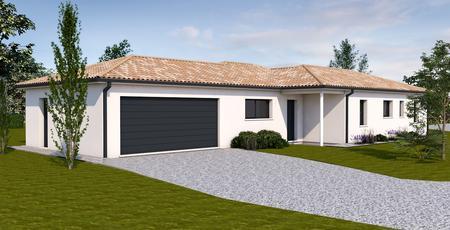 Projet de construction DUNES - constructeur de maisons Agen