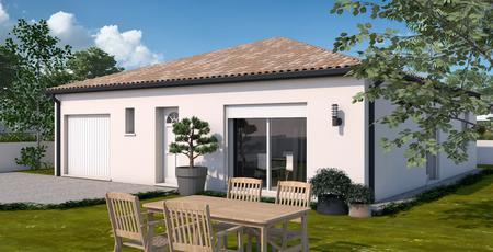 Maison T4 plain-pied - constructeur de maisons Toulouse