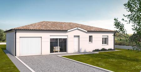 Maison neuve à Nerac - constructeur de maisons Agen