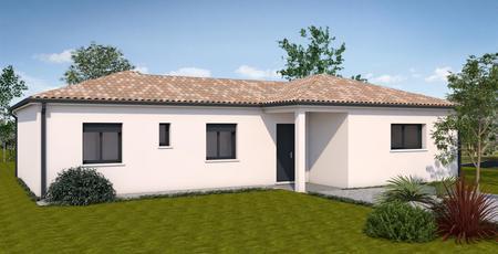 Maison neuve à Sauméjan - constructeur de maisons Agen