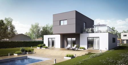 Maison 6 pièces à Mons - constructeur de maisons Toulouse