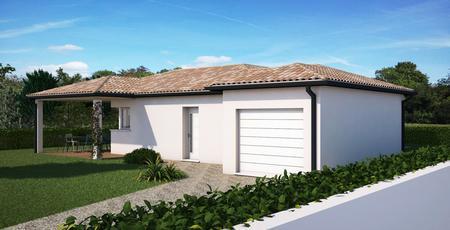 Villa neuve à Sainte Bazeille - constructeur de maisons Agen