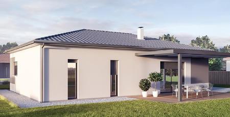 Maison Neuve Plain-pied sur mesure - CESTAS - constructeur de maisons Bordeaux