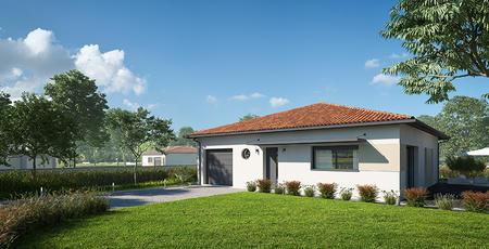 maison 3 ch avec garage - constructeur de maisons Bordeaux