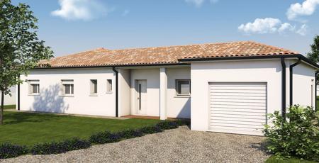 Pavillon neuf à Lavardac - constructeur de maisons Agen