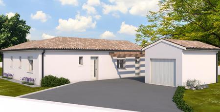 Pavillon neuf à Casteljaloux - constructeur de maisons Agen