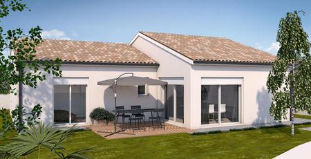 Villa neuve à Casteljaloux - constructeur de maisons Agen