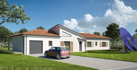 Villa neuve à Beaupuy - constructeur de maisons Agen