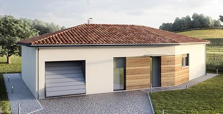 Maison à Tonneins - constructeur de maisons Agen
