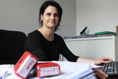 Constructeur de maisons Agen - Sandrine Castendet - responsable comptabilité et ressources humaines