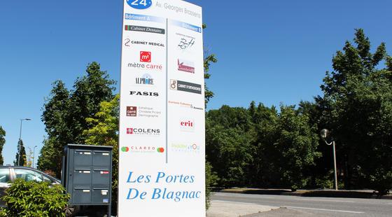 Portes de Blagnac, constructeur Mètre Carré