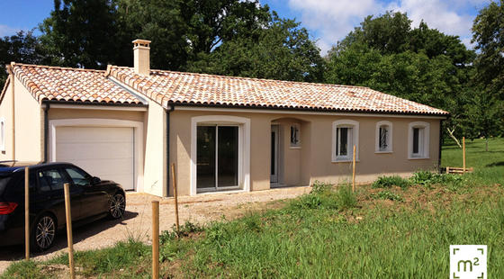 Nouvelle construction : maison individuelle - tarn 81 - lempaut