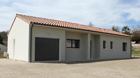 Projet de construction à saint Caprais de Lerm