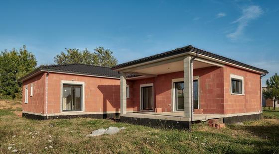 Maison neuve Mètre Carré Bon Encontre - Terrasse couverte