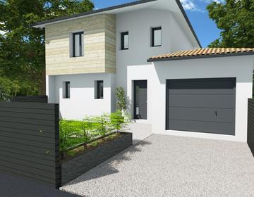 maison 100m² + garage - constructeur de maisons Parentis
