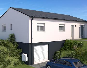 Maison sur sous-sol neuve - constructeur de maisons Agen