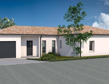Maison sur mesure proche Bourg CESTAS - constructeur de maisons Bordeaux