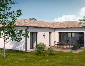 Maison neuve CASTELCULIER - constructeur de maisons Agen