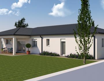 Projet de construction avec grand terrain Sainte Colombe - constructeur de maisons Agen